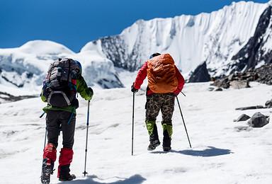 冰川探游贡嘎 徒步贡嘎山域 探秘绝美冰川 独家冰川徒步活动(8日行程)