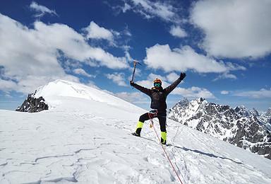 半脊峰(5430米)-2019年登山活动(6日行程)