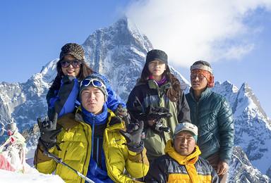 长坪沟徒步适应高海拔 加四姑娘山二峰雪山攀登(5日行程)