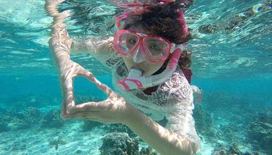 大亚湾荒岛浮潜 邂逅珠三角最美海岛,尊享准四星级海景公寓(2日行程)