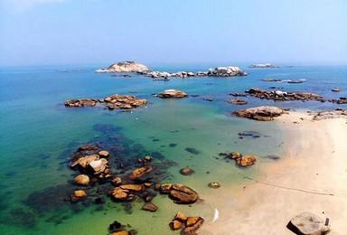 红海湾浮潜]神秘沙滩浮潜+网红灯塔岛+南海寺+美食海鲜(2日行程)