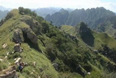 徒步穿越 三皇山|经典户外徒步线路 一渡-五渡穿越(1日行程)