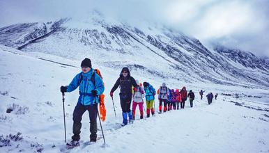 挑战贡嘎全线-徒步穿越蜀山之王大环线100公里(8日行程)