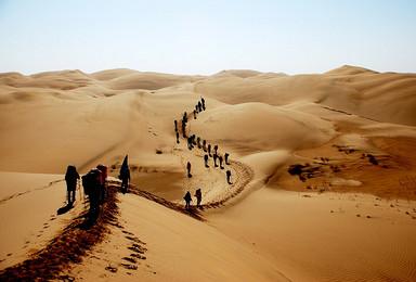 E线:探秘内蒙古—旅途修行之横穿库布齐沙漠草原4天3晚户外行(4日行程)