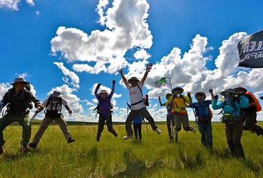 F线:探秘内蒙古—辉腾锡勒草原、库布齐沙漠4天3晚巅峰徒步(4日行程)