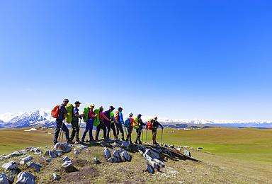 [喀拉峻小环]含餐 新疆琼库什台 东西喀拉峻 塔里木轻装徒步(7日行程)
