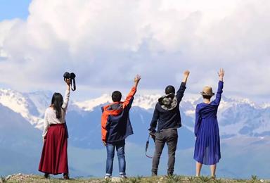 从东疆到西疆,丝路新北道—大海道与伊犁河谷的喜相逢!(10日行程)