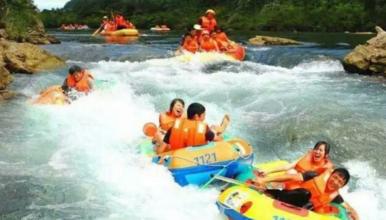 清凉一夏 紫荆关|在京郊第一漂 来一场夏季湿身大作战(1日行程)