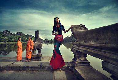 2019年柬埔寨 探秘吴哥窟风情 吴哥窟 塔普伦寺 崩密列(5日行程)