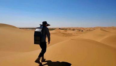 冰岩探险2018腾格里沙漠徒步 五湖连穿(4日行程)