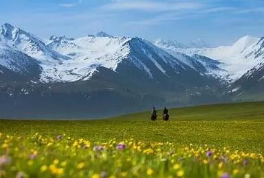 新疆喀拉峻轻装徒步 库尔德宁 喀拉峻 琼库什台 含餐 可定制(9日行程)