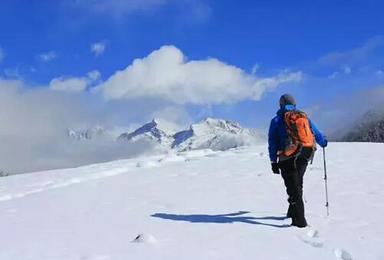 雪线之上 四姑娘山大峰攀登 第一座五千米雪山1比2协作(4日行程)