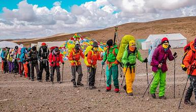 2019 青海 玉珠峰6178米 南坡 登山活动(8日行程)