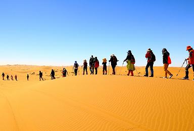 腾格里沙漠夏令营-银川-徒步探险-沙漠亲子游-王者学院5日团(5日行程)