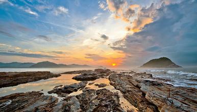 惠东最美海岸 黑排角穿越徒步 玩水 捡贝壳 一起去看海(1日行程)