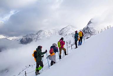 四姑娘山长坪沟徒步适应海拔 加大峰攀登 尝试初级雪山攀登(5日行程)