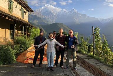 [云中天堂]羊湖珠峰日喀则尼泊尔ABC徒步自由行(10日行程)