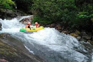 漂流一夏 天桥峪 体验高山漂流的速度与激情  挑战玻璃吊桥(1日行程)