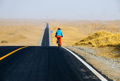 塔克拉玛干沙漠的骑行穿越(8日行程)