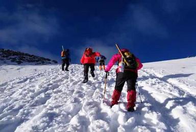 户外攀登 登顶哈巴雪山 感受云上风光 初级徒步雪山线路(4日行程)