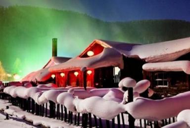 雪乡雪谷滑雪 雪谷穿越雪乡 林海雪原穿越(4日行程)