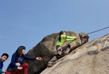 爬上山坡吃火锅 大顶山攀绳登山(1日行程)
