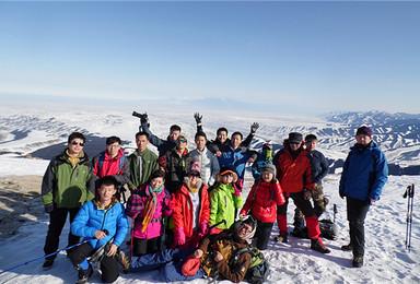 南山牧场难易双线徒步活动 滑野雪的自带板(1日行程)