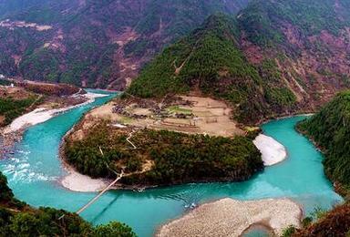 穿越怒江大峡谷 中缅边界 探密独龙江深度游(7日行程)