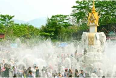 四月十二号到四月十七号来一场 湿身的盛宴 泰国泼水节(6日行程)