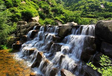 五一 人间仙境白石山体验惊险刺激的玻璃栈道 十瀑峡(2日行程)