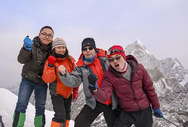 初级雪山攀登  四姑娘山二峰(4日行程)