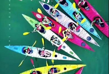 体验仙岛湖皮划艇 探索 水上迷宫(1日行程)