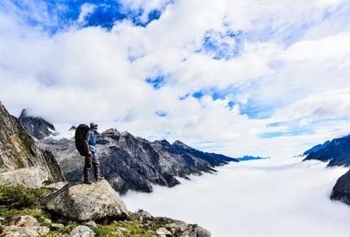长穿毕经典徒步 用脚步丈量世界 去看原始的美景(5日行程)