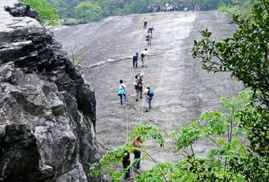 纪龙山探险 翻越豹子崖 神秘探洞 绝壁速降(2日行程)