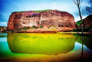 徒步秘境波浪谷 探秘库布齐沙漠 壶口瀑布感受黄河壮观美景(4日行程)