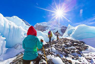 朝圣世界之巅 尼泊尔 珠穆朗玛峰南坡大本营EBC徒步(14日行程)
