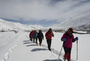 贡嘎转山 贡嘎雪山大小环线徒步完美穿越(7日行程)