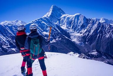 贡嘎卫峰 5588M那玛峰攀登(6日行程)