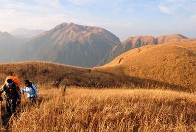 江西武功山精华路段 发云界 绝望坡 吊马庄20公里徒步穿越(3日行程)