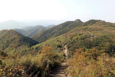 古道寻秋 小虐线 徒步杭州萧富古道 登萧山第一高峰船坞山(1日行程)