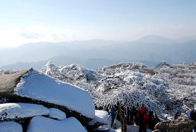 秦岭徒步 叁仟零壹拾伍米的相约  冰晶顶(1日行程)