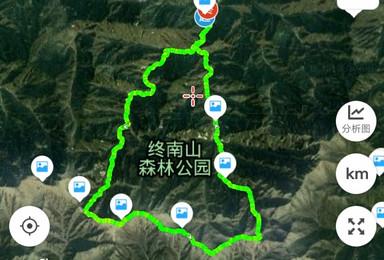 1月25日西安自驾终南山小峪环形一日徒步 费用aa(1日行程)