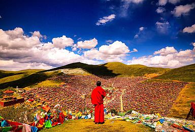 佛国色达禅心祈福 最美藏寨丹巴 四姑娘山越野环线(4日行程)