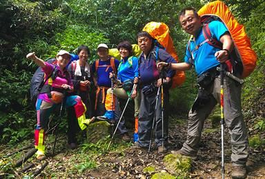 2021年哀牢山 徒步穿越 原始森林(7日行程)