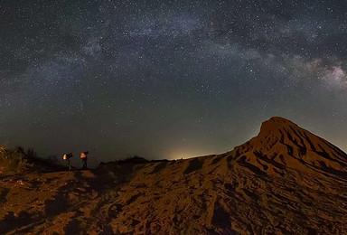 直入乌兰布和沙漠腹地,赏千年古道。拍荒漠星空(6日行程)