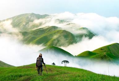 醉美武功山爬山 天上草原 徒步穿越 看日出日落 观云海(2日行程)