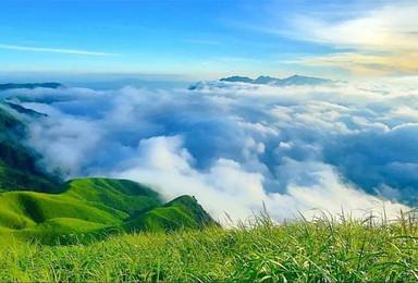 [武功山]龙山村-发云界-绝望坡-吊马桩-金顶3日穿越(4日行程)
