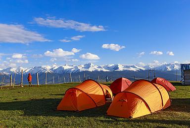 [喀拉峻大环]新疆伊犁琼库什台 喀拉峻 徒步世界自然遗产(9日行程)