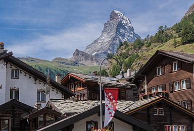 2019 瑞士 马特洪峰冰川徒步 布莱特洪峰攀登(7日行程)