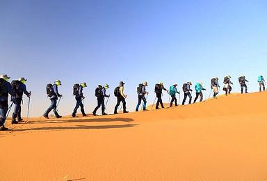 2019毅行腾格里沙漠徒步穿越(5日行程)